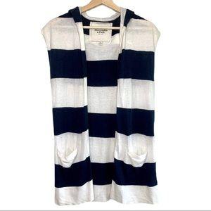 Abercrombie Hooded Cardigan Vest